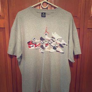 (6) Jordan & Nike Basketball Tees (XL)